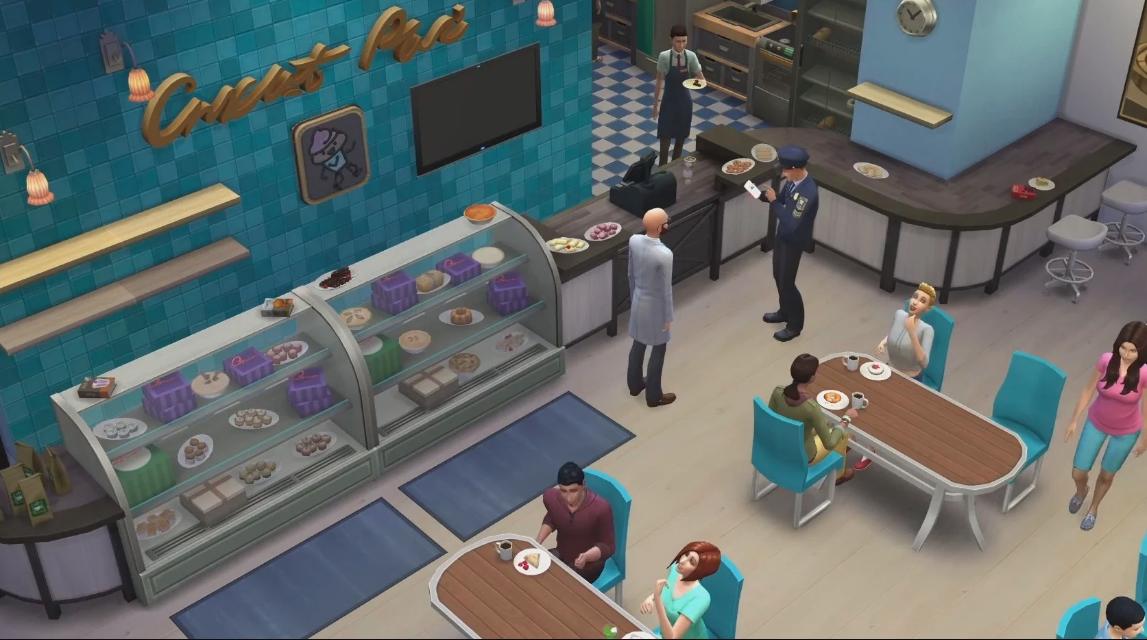 movilidad en Los Sims 4
