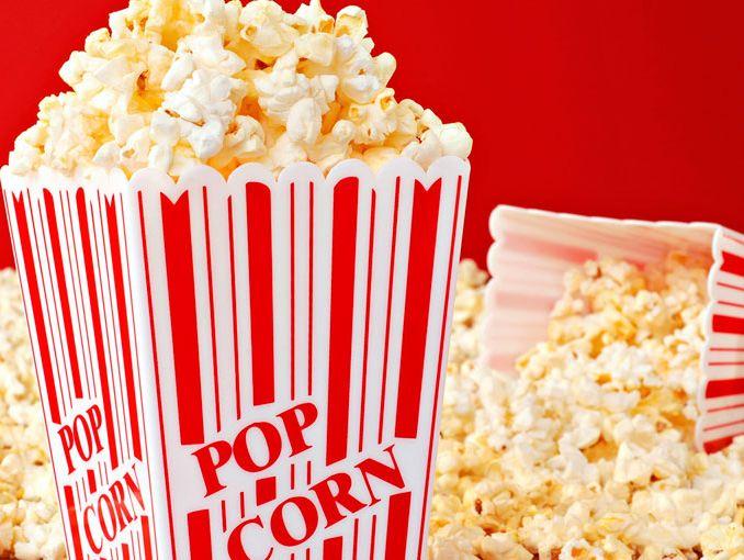 palomitas para ver películas