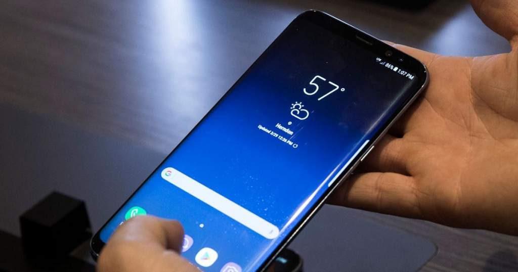 Usuarios se quejan de zonas muertas en la pantalla del Galaxy S9