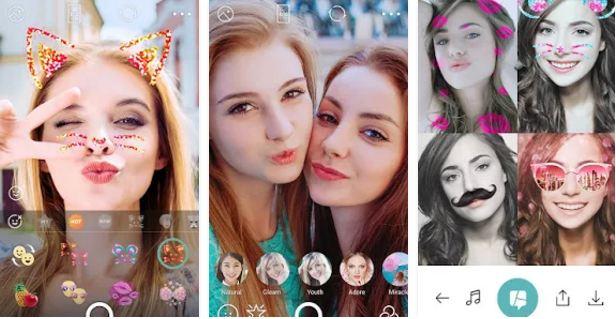 filtros selfie camera